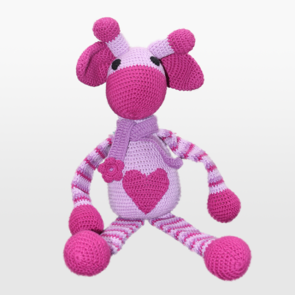 Kvačkana žirafa, vijolična