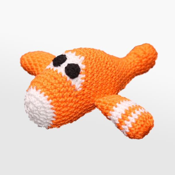 Kvačkano letalo, oranžno