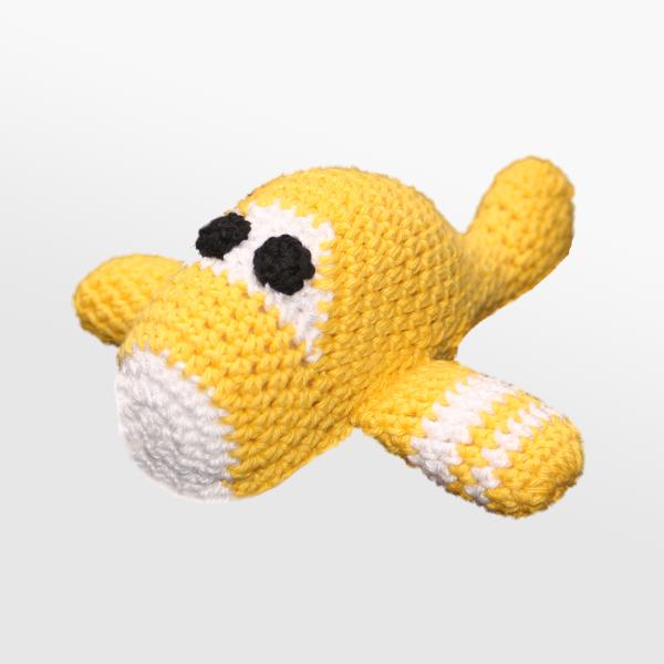 Kvačkano letalo, rumeno