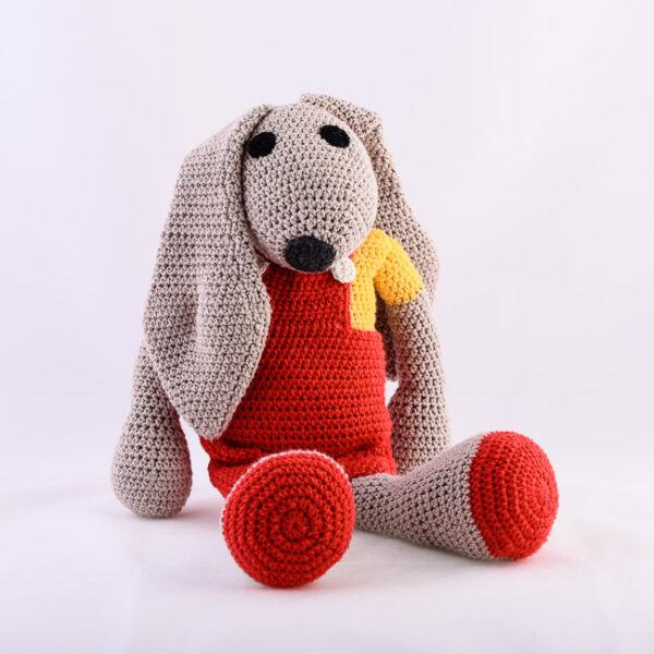 kvačkan zajček, rdeča