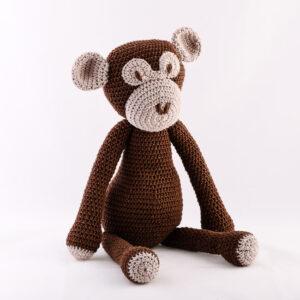 Kvačkana opica, rjava