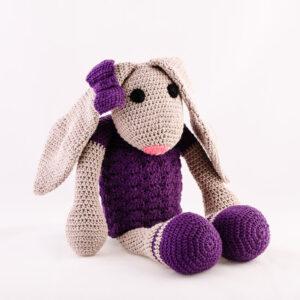 Kvačkana zajčica, vijolična