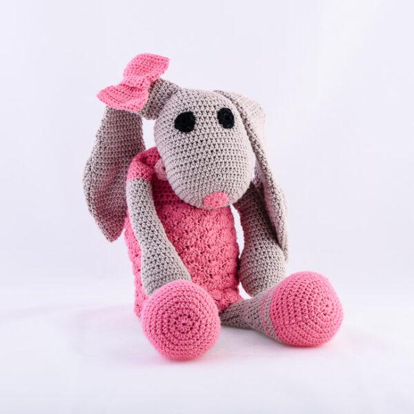 Kvačkana zajčica, roza