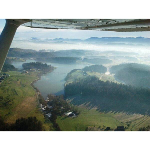 Panoramski polet, Šmartinsko jezero