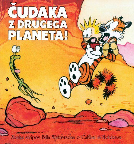 Strip Calvin in Hobbes Čudaka z drugega planeta