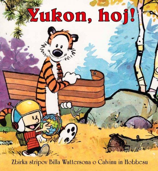 Strip Calvin in Hobbes Yukon, hoj!