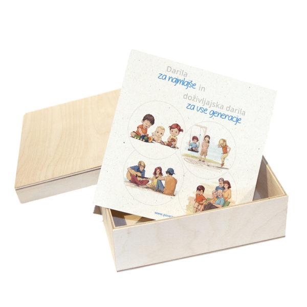 Škatlica za darilni bon