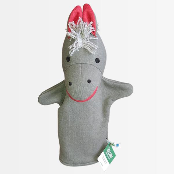 ročna lutka konj