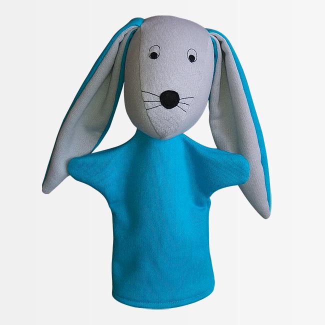 ročna lutka zajec