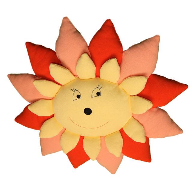 Sončnica, tekstilna igrača