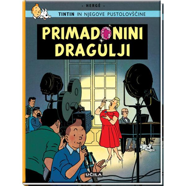 Tintin in njegove pustolovščine Tintin in primadonini dragulji