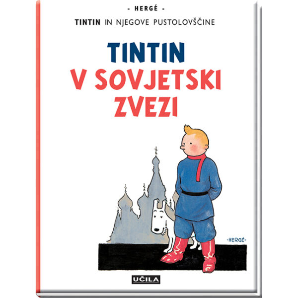Tintin in njegove pustolovščine Tintin v Sovjetski zvezi