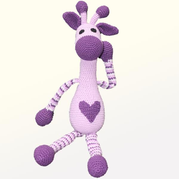 Kvačkana žirafica, vijolična