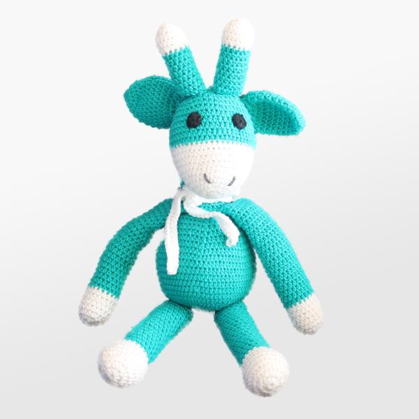 Kvačkana žirafica, zelena