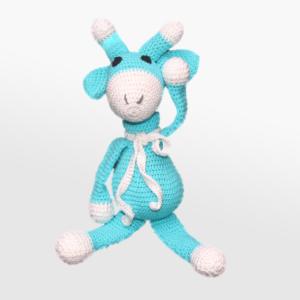 Kvačkana žirafica, modra
