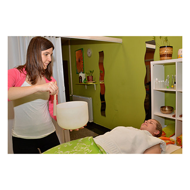Celostni SPA z masažo in zvokom