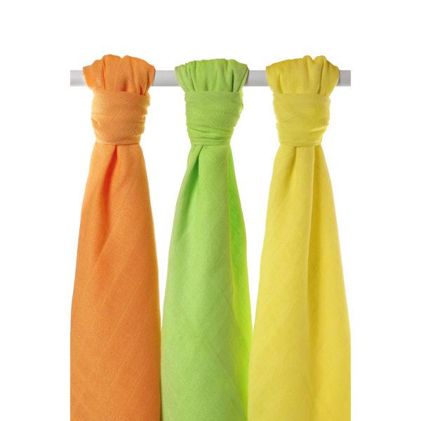Potiskane tekstilne plenice, barvne mix
