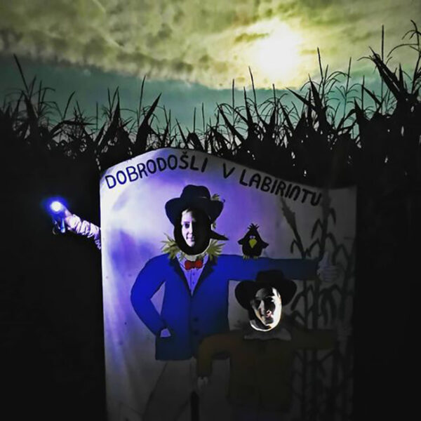 nočni koruzni labirint