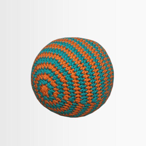 žoga oranžno turkizna