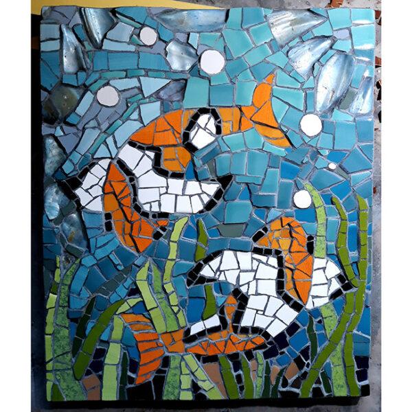 Ribici, mozaik