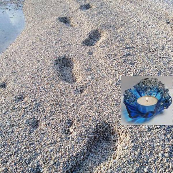 stopala v pesku