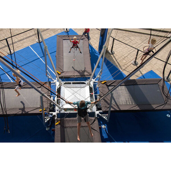 bungee trampolin višin